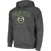 Colosseum Athletics Men's Colorado State Rams Grey Performance Hoodie