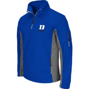 Colosseum Men's Duke Blue Devils Duke Blue Quarter-Zip Plow Jacket