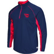 Colosseum Athletics Men's Dayton Flyers Red Airstream Quarter-Zip Windshirt