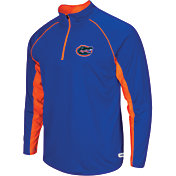 Colosseum Athletics Men's Florida Gators Blue Airstream Quarter-Zip Windshirt