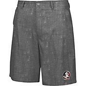 Chiliwear Men's Florida State Seminoles Grey Match Play Short