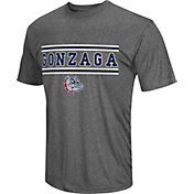 Colosseum Athletics Men's Gonzaga Bulldogs Grey Matrix T-Shirt