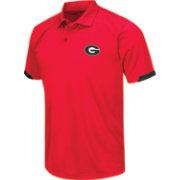Chiliwear Men's Georgia Bulldogs Red Performance Polo