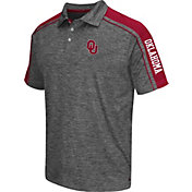 Chiliwear Men's Oklahoma Sooners Grey Birdie Polo