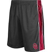 Colosseum Athletics Men's Oklahoma Sooners Grey Layup Shorts