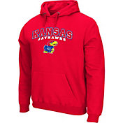 Colosseum Athletics Men's Kansas Jayhawks Red Secondary Fleece Hoodie