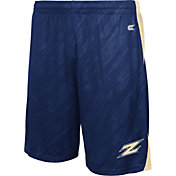 Colosseum Athletics Men's Akron Zips Navy Sleet Performance Shorts
