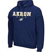 Colosseum Athletics Men's Air Force Falcons Blue Performance Fleece Pullover Hoodie