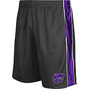 Colosseum Athletics Men's Kansas State Wildcats Grey Layup Shorts