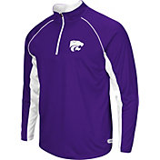 Colosseum Athletics Men's Kansas State Wildcats Purple Airstream Quarter-Zip Windshirt