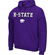 Colosseum Athletics Men's Kansas Jayhawks Blue Performance Fleece Pullover Hoodie