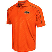 Chiliwear Men's Oklahoma State Cowboys Sleet Black Performance Polo