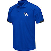 Chiliwear Men's Kentucky Wildcats Blue Performance Polo