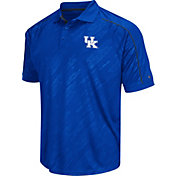 Chiliwear Men's Kentucky Wildcats Blue Sleet Performance Polo