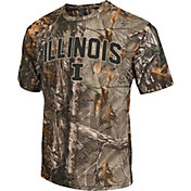 Colosseum Athletics Men's Illinois Fighting Illini Camo Brow Tine T-Shirt