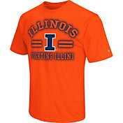 Colosseum Athletics Men's Illinois Fighting Illini Orange Haze T-Shirt