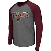 Colosseum Men's Louisiana Monroe Warhawks Grey Olympus Long Sleeve Shirt