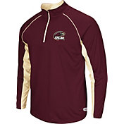 Colosseum Athletics Men's ULM Warhawks Maroon Airstream Quarter-Zip Windshirt