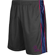 Colosseum Athletics Men's Ole Miss Rebels Grey Layup Shorts