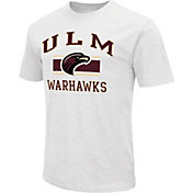 Colosseum Athletics Men's Louisiana-Monroe Warhawks White Dual Blend T-Shirt