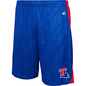 Colosseum Athletics Men's Louisiana Tech Bulldogs Blue Sleet Performance Shorts