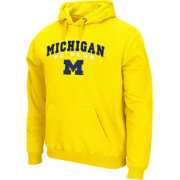Colosseum Athletics Men's Michigan Wolverines Maize Secondary Fleece Hoodie