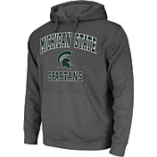 Colosseum Athletics Men's Michigan State Spartans Grey Performance Hoodie