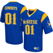 Colosseum Athletics Men's McNeese State Cowboys Royal Blue #1 Hail Mary Jersey