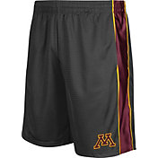 Colosseum Athletics Men's Minnesota Golden Gophers Grey Layup Shorts