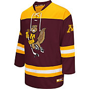 Colosseum Athletics Men's Minnesota Golden Gophers Maroon Open Net Hockey Jersey