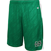 Colosseum Athletics Men's Marshall Thundering Herd Green Sleet Performance Shorts