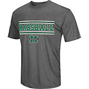 Colosseum Athletics Men's Marshall Thundering Herd Grey Matrix T-Shirt