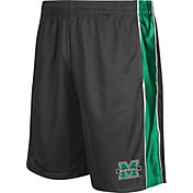 Colosseum Athletics Men's Marshall Thundering Herd Grey Layup Shorts