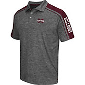 Chiliwear Men's Mississippi State Bulldogs Grey Birdie Polo