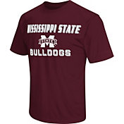 Colosseum Athletics Men's Mississippi State Bulldogs Maroon Matrix T-Shirt