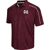 Chiliwear Men's Mississippi State Bulldogs Maroon Sleet Performance Polo