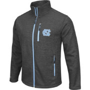 Colosseum Athletics Men's UNC Tar Heels Grey Backfield II Jacket