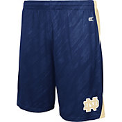 Colosseum Athletics Men's Notre Dame Fighting Irish Navy Sleet Performance Shorts