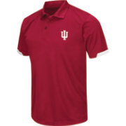 Chiliwear Men's Indiana Hoosiers Crimson Performance Polo