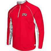 Colosseum Athletics Men's UNLV Rebels Scarlet Airstream Quarter-Zip Windshirt
