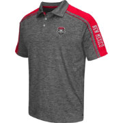 Chiliwear Men's New Mexico State Lobos Grey Birdie Polo