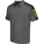 Chiliwear Men's Appalachian State Mountaineers Grey Birdie Polo