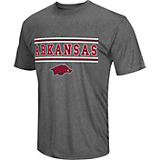 Colosseum Athletics Men's Arkansas Razorbacks Grey Matrix T-Shirt