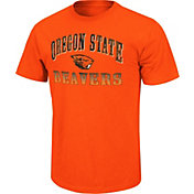 Colosseum Athletics Men's Oregon State Beavers Orange Contour T-Shirt