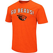 Colosseum Athletics Men's Oregon State Beavers Orange Team Slogan T-Shirt