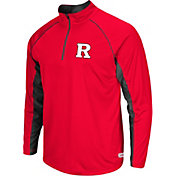 Colosseum Athletics Men's Rutgers Scarlet Knights Scarlet Airstream Quarter-Zip Windshirt