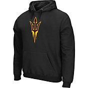Colosseum Athletics Men's Auburn Tigers Performance Black Fleece Hoodie