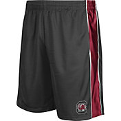 Colosseum Athletics Men's South Carolina Gamecocks Grey Layup Shorts