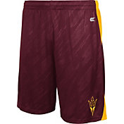 Colosseum Athletics Men's Arizona State Sun Devils Maroon Sleet Performance Shorts