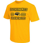 Colosseum Athletics Men's Southern Miss Golden Eagles Gold Haze T-Shirt